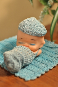 Kewpie Doll with Crochet